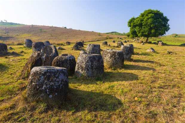 Remnants on the Plain of Jars, Phonsavan © Peter Stuckings Shutterstock